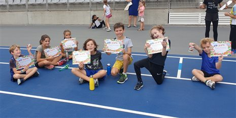 KINDER ATHLETICS DAY 2020: Une Réussite !